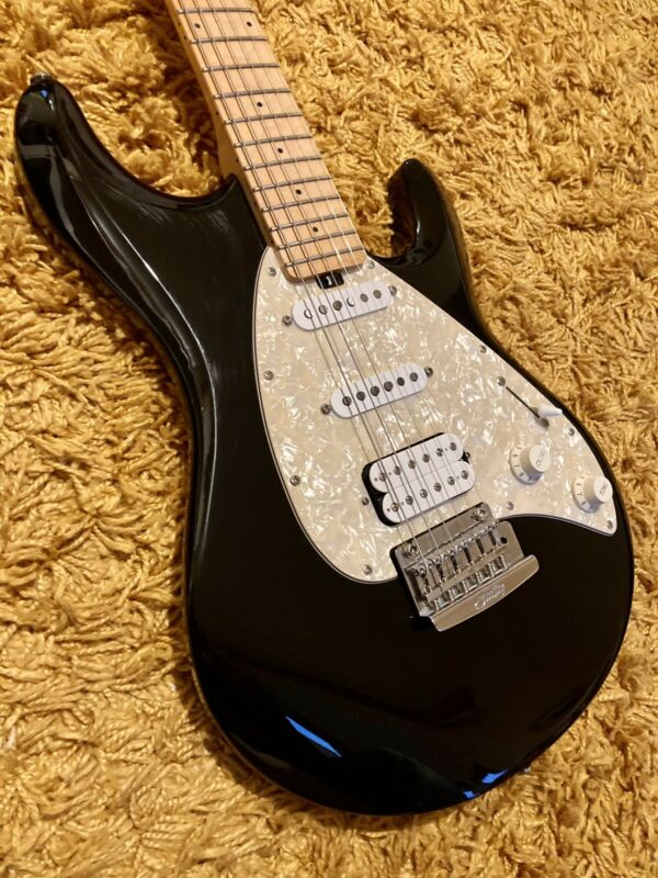 Music Man Sterling Silhouette Silo 30 Electric Guitar Black Padded Case  HSS