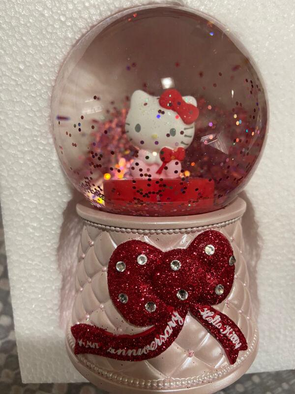 New Sanrio Hello Kitty 45th Anniversary Snow Globe
