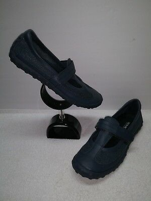 Cheap Mary Janes (SIZE 7.5 WANTED Womens Shoes FLASH 2 Navy Blue Leather & Mesh Mary)