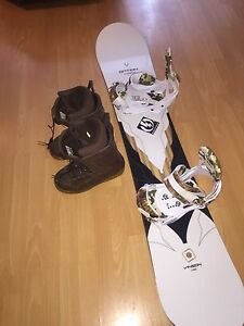 158 cm Option Snowboard w/ Burton Mission Bindings
