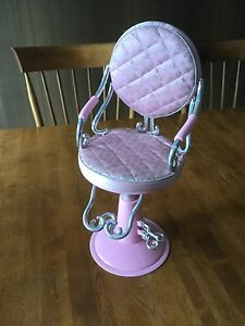American Girl Salon chair