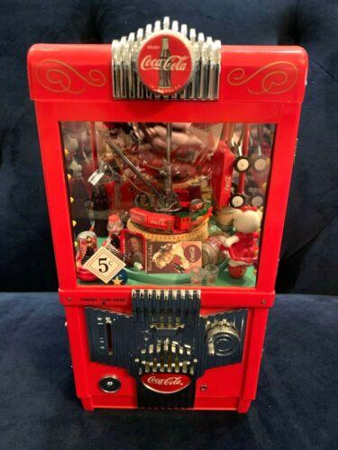 Enesco - Coca-Cola Moving Grabber & Toys Arcade Bank & Music Box  Mint Condition