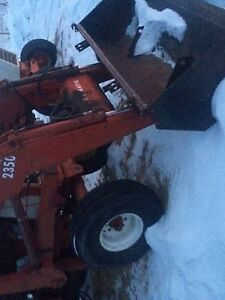 Parting tractors and loaders for sale