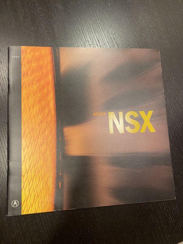 2001 Acura NSX sales brochure book