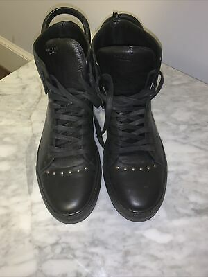 Buscemi Sneakers Men 100mm High-Top Black and gold very rare