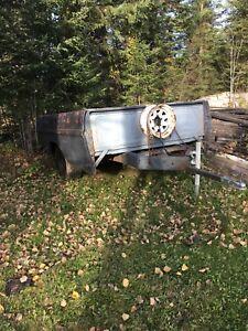 Utility trailer.