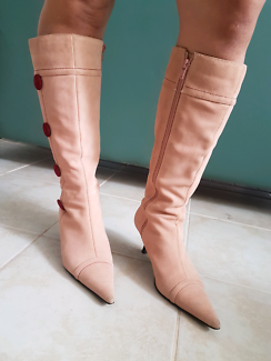 Betts leather suede boots size: 38/7
