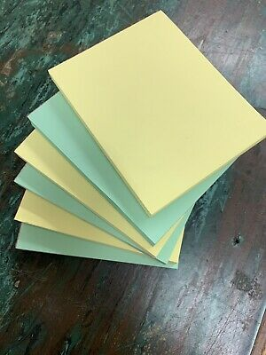 Note Pads - Memo Pads - Scratch Pads - Writing Pads - 6 Packs 5x4 Colors Vary