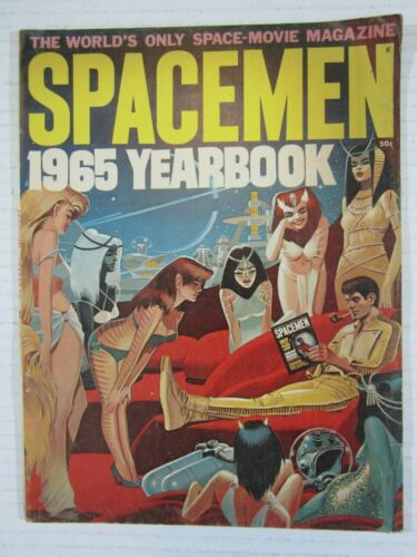 SPACEMEN 1965 YEARBOOK MAGAZINE VG/FN