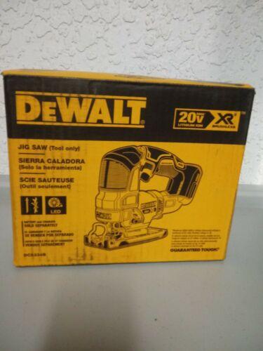 DEWALT DCS334B 20V MAX XR Cordless Brushless Jig Saw NEW - $150.00