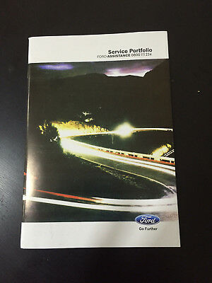 FORD FIESTA SERVICE HISTORY BOOK PETROL AND DIESEL FOCUS MONDEO TRANSIT TDCI