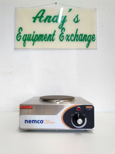 Nemco Commercial, Electric Hot Plate 6310-1, 1 Solid Burner, Infinite Controls