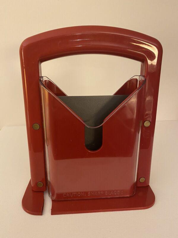 "Hoan The Original Bagel Guillotine Universal Slicer 9.25"" Look at Description"