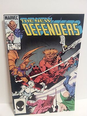 The New Defenders #139 (Jan. 1984, Marvel), MT, Mint