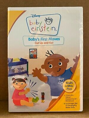 Baby Einstein - Babys First Moves (DVD, 2006) US/CANADA NEW