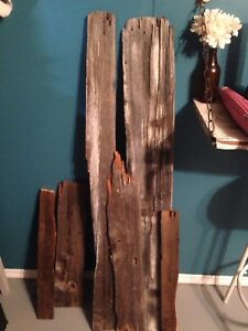 180 year old barn wood pieces