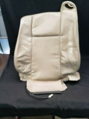 2003 Cadillac CTS Drivers Side Lean Back Replacement Leather Seat Cover Tan