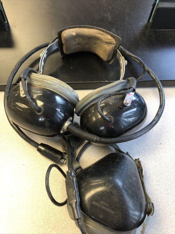 David Clark Aviation headset-microphone H-133C/A1C 5965-00-226-7870 Straightway