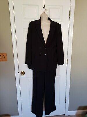 Black 2 piece Le Suit fully lined Size 12 Women