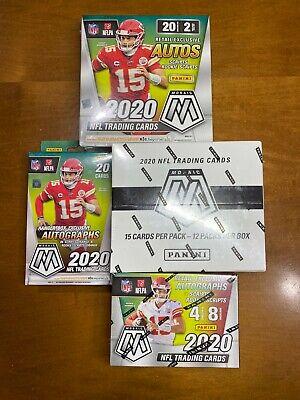 Arizona Cardinals 2020 Panini Mosaic NFL Box Break Cello/Mega/Blaster/Hanger - $17.49