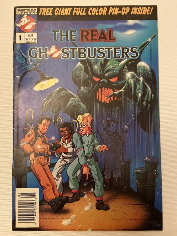 The Real Ghostbusters #1 1988