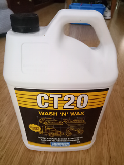 CT20  wash and wax 5 litres used only twice