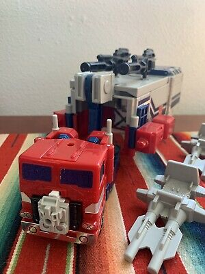 Power Master Optimus Prime Powermaster 100% Complete 1988 Vintage G1 Transformer