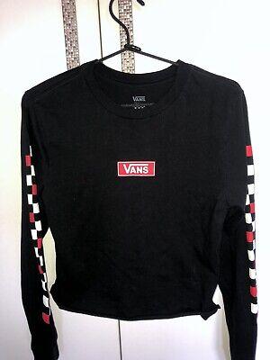 Vans Black Long Sleeve Top
