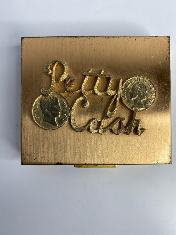 Vintage 50's 60's Petty Cash Coin Change Holder