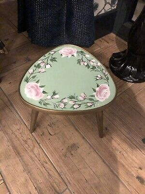 Painted Plant Stand/Side Table - Bargeware