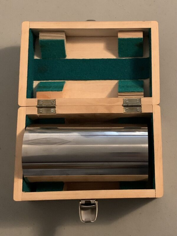 Rafan Precision Cylindrical Square Mksm 160 - 160mm x 80mm in Wooden Case