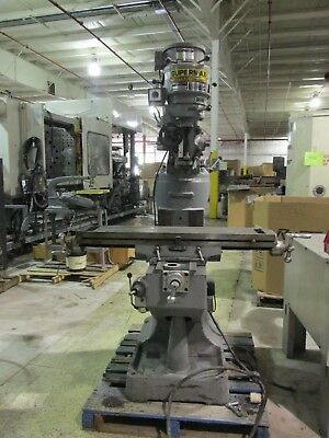 Supermax Titan Yc-1-12 Vs-t42 V. Speed Turret Milling Machine Exc. Cond. Cool