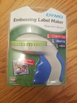 Dymo Embossing Label Maker Organizer Xpress