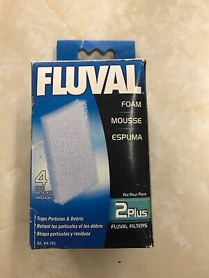 Fluval 2 Plus Foam - Fluval 2 Plus Foam Insert (3-Pack)