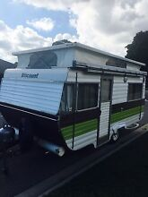 Caravan Poptop - Viscount 16ft Grand Tourer - (NEW 3 way Fridge) Fulham Gardens Charles Sturt Area Preview