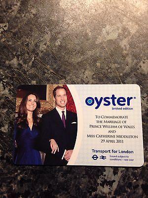 ROYAL WEDDING OYSTER CARD LIMITED EDITION