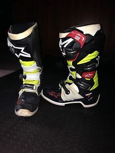 Alpinestar Tech 7  motocross boots