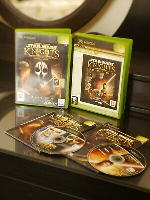 Bundle: Star Wars Knights Of The Old Republic 1 + 2, Kotor 1&2 Sith Lords Xbox
