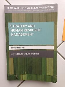 Strategy and Human Resource Management Bligh Park Hawkesbury Area Preview