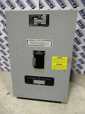 Ge Tj400s Model 1 400 Amp 600 Volt Circuit Breaker Enclosure- En271