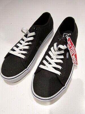 VANS Ferris Mens UK Size 7 Shoes Sneakers Old Skool Trainers Black & White(BNWT)