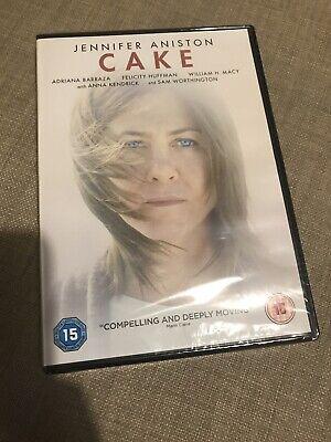 Cake (DVD, 2014) starring Jennifer Aniston