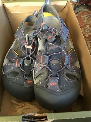Keen Venice H2 Footwear Sandals Midnight Navy Hot Coral US 6 EU36 Worn Once Cond