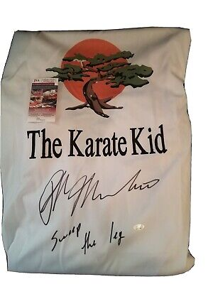 Ralph Macchio Signed Autographed GI JSA Authenticated Karate Kid Sweep the leg!
