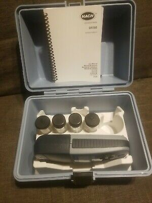 Used Dr300 Pocket Colorimeter Great Condition Manual And Box
