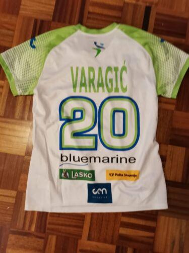 ALJA VARAGIC Match Worn Jersey Slovenia National Handball team