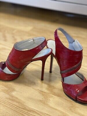 Sergio Rossi Red Heels - Size 39