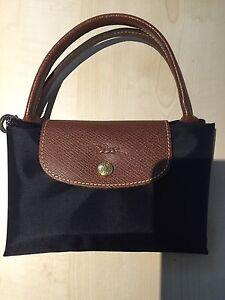 Real Longchamp Bag Short Handles