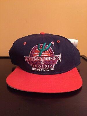 new product 28c2a cd588 Vintage NBA All-Star Game 1995 Phoenix Suns New Era Snapback Hat Cap NEW  TAGS
