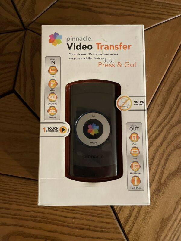 Pinnacle Video Transfer Press & Go  Video Transfer Device